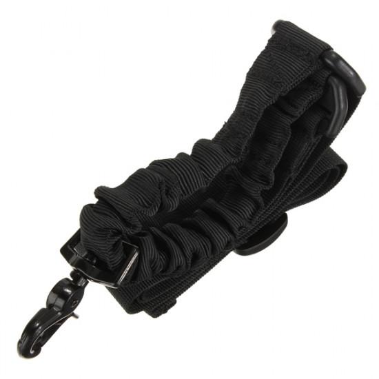 ACU 1 Punkt Tactical Bungee Rifle Sling for Udendørssport Hær Brug 2021
