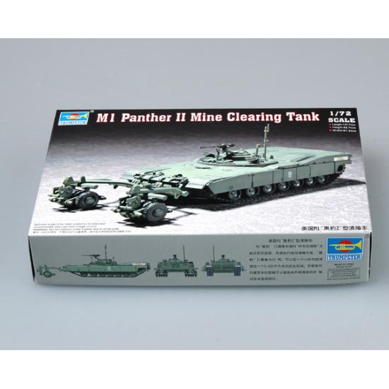 Hobbyboss Trumpeter M1 Panther II Mine Clearing Pansarvagn Military Pansarvagn 1/72 2021