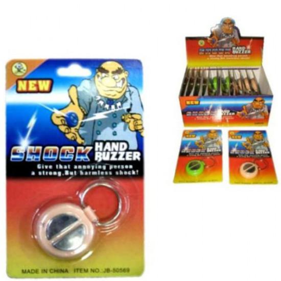 New Funny Shocking Hand Buzzer Shock Toy Joke Prank 2021