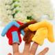 8 stk Familie Fingerpuppen Stoff Weiche Puppe Baby Puzzle Hand Spielzeug 2021