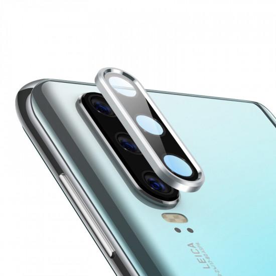 2 i 1 Metal +Härdat Glas Reptålig Kameralinsskydd Samsung Galaxy Note 10 / Note 10 Plus / S10 / S10 plus 2021
