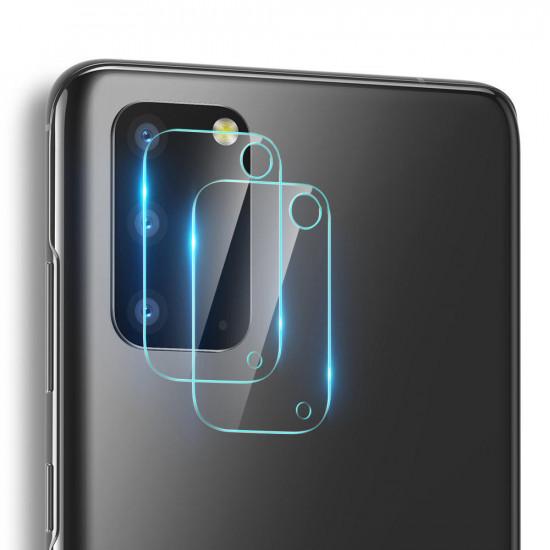 2stk Kratzfest Clear Panzerglas Kamera Linsenschutz Samsung Galaxy S20 2021