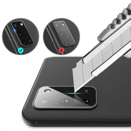 Kratzfest Clear Panzerglas Kamera Linsenschutz Samsung Galaxy S20 / S20 5G 2021