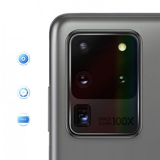 Kratzfest Clear Panzerglas Kamera Linsenschutz Samsung Galaxy S20 Ultra / S20 Ultra 5G 2021