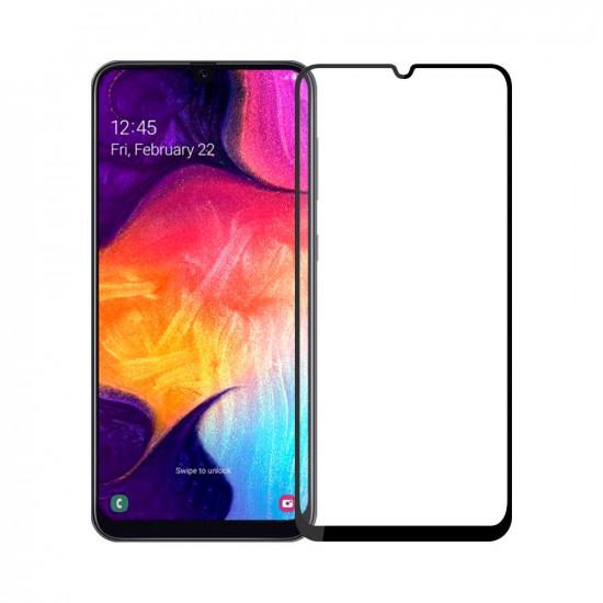 2.5D Curved Edge Härdat Glas Skärmskydd Samsung Galaxy A50 2021