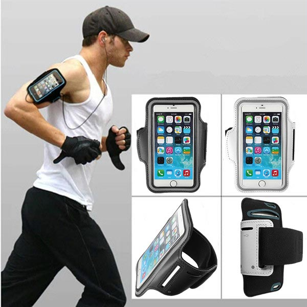 brand new fea8d 3106d Buy Sport Gym Running Armband Case Key Pouch For iPhone 6 Plus ...