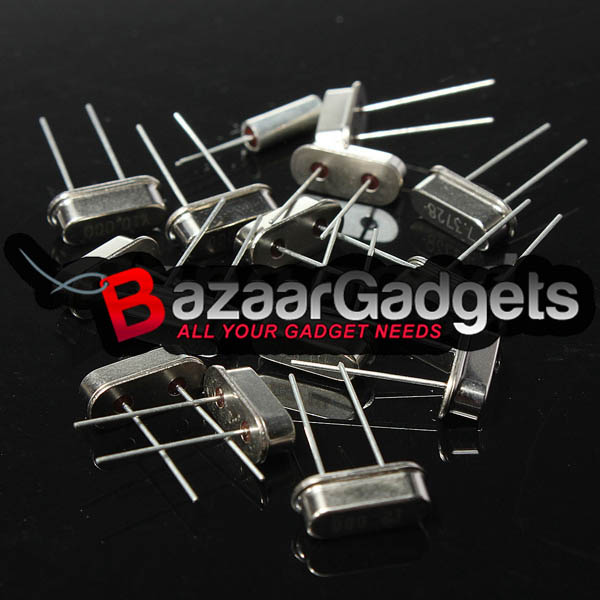 15 values 4M 11.0592M 12M 32.768K 16M 48MHz Crystal Oscillator Assortment Kit
