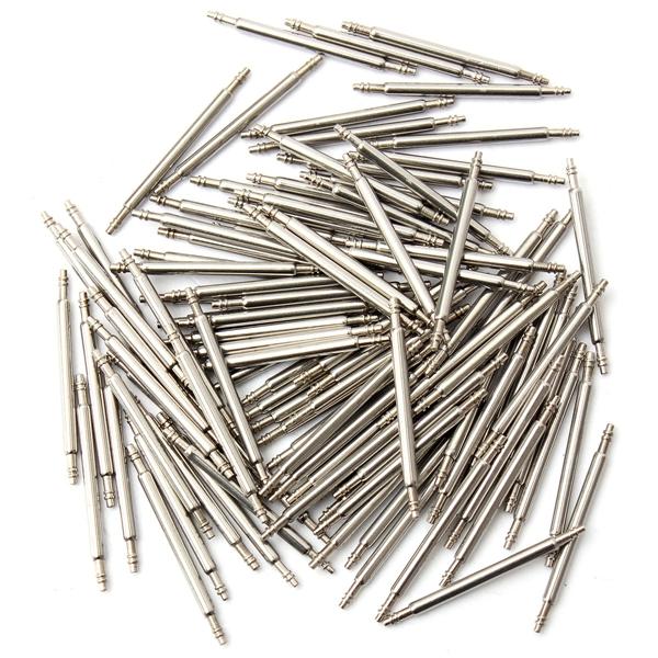 Köp 100st 24mm Rostfritt Stål Klocka Bandstift Rem Länk Pins ... 3480f363b065a