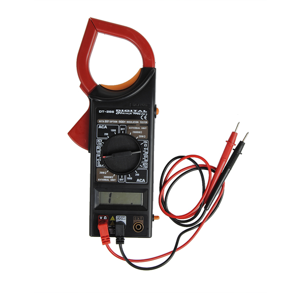 Günstig Kaufen DT266 AC / DC LCD Digital Clamp Multimeter ...