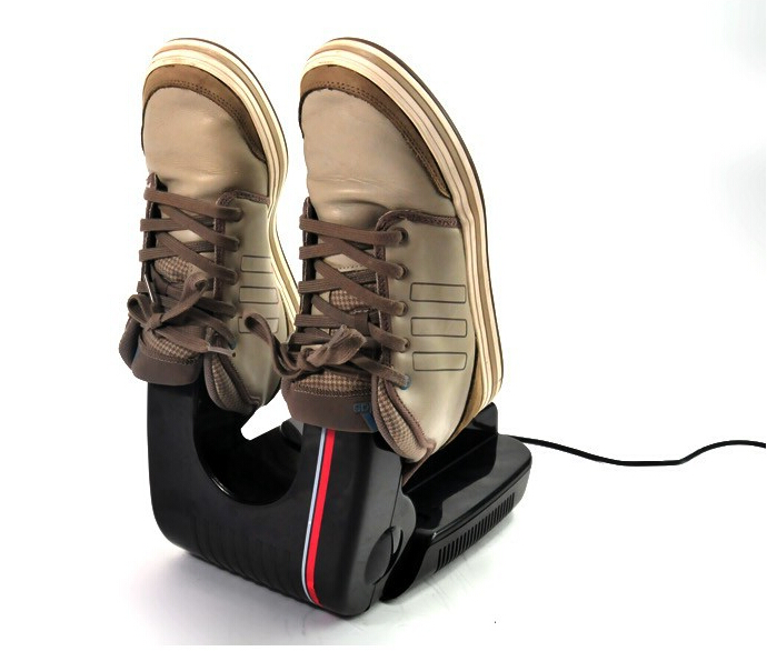 sko i tørretumbler