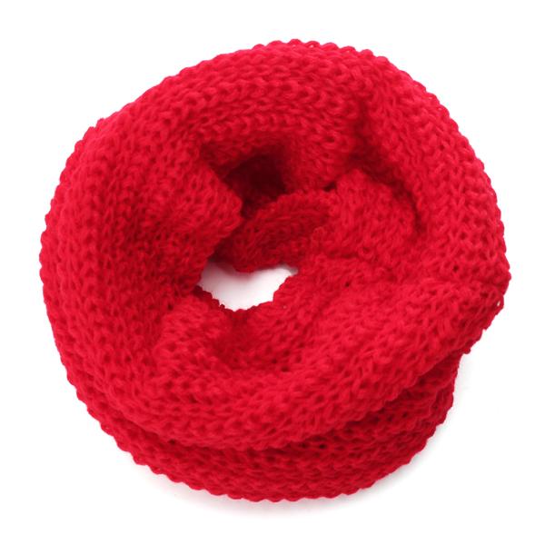 400ff1845019 Køb Baby Børn Strikket Halstørklæde Four Farve Nakke Warmer Wrap ...