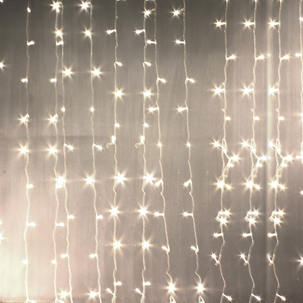 Buy Christmas light 3mx3m 300 LED String Lights Curtain Lights ...