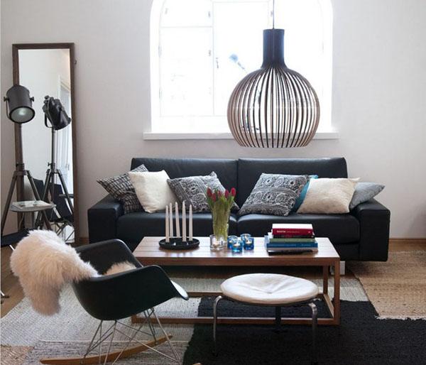 Køb simple moderne iron birdcage pendel soveværelse restaurant ...