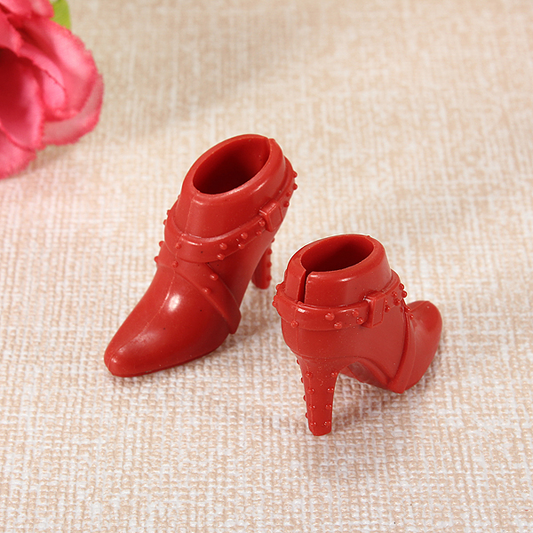 4Pairs Fashion Sneackers For Doll Mini Toy for  Doll Shoes Accessories ER