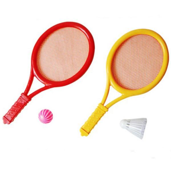 Yellow//Red Sportx Tennis Set