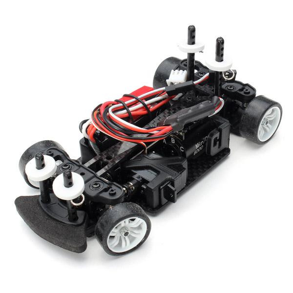 Fräscha Köp SINOHOBBY Mini-Q5 1/28 Borstlös 4WD RC Bil Utan Sändare UK-65