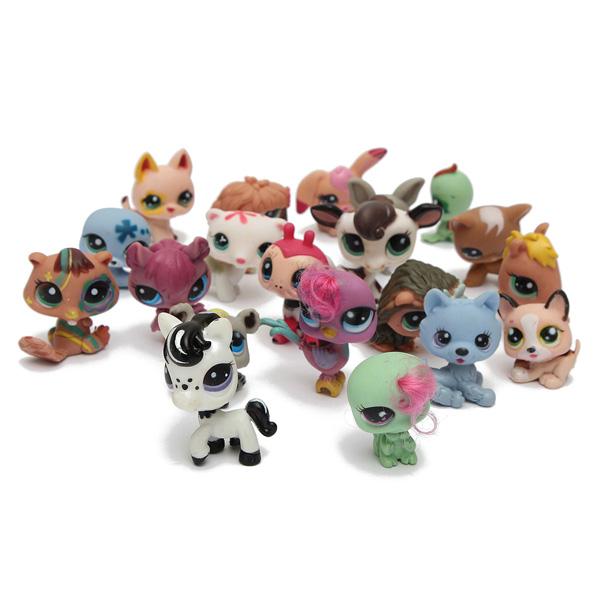 Afholte Buy 20PCS Littlest Pet Shop Cat Dog Animals Random Figures Kids RJ-84
