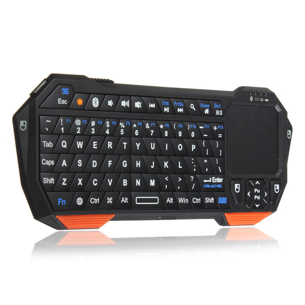 Buy Mini Bluetooth Wireless Keyboard Touchpad Mouse For IPad PC