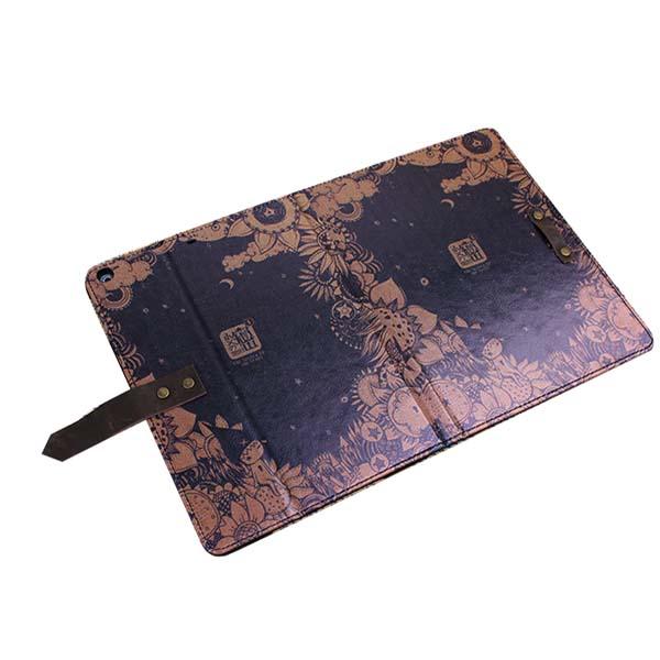 K B Vintage Style Elegant Udseende Beskyttende Cover Etui Til Ipad Air