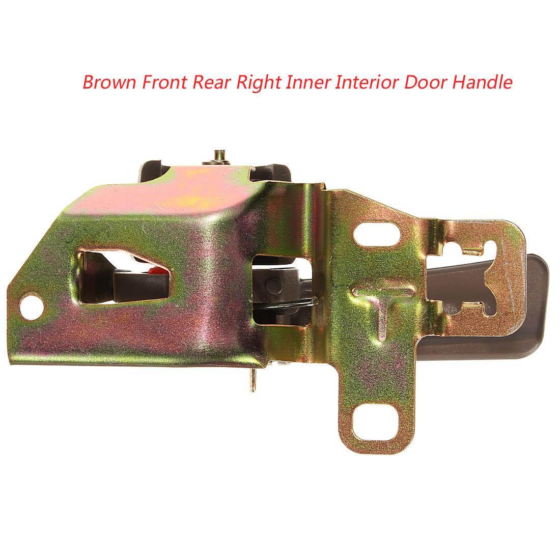 Buy brown front rear right inner interior door handle for for Front door handles new zealand