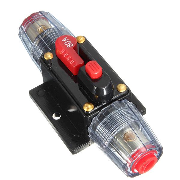 220 amp breaker fuse box with buy dc12v car stereo audio circuit breaker inline fuse ... 80 amp breaker fuse box