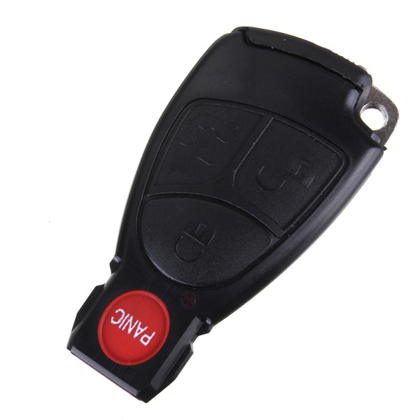 Buy Remote Keyless Smart Key Fob Case Shell With Battery Holder For Benz