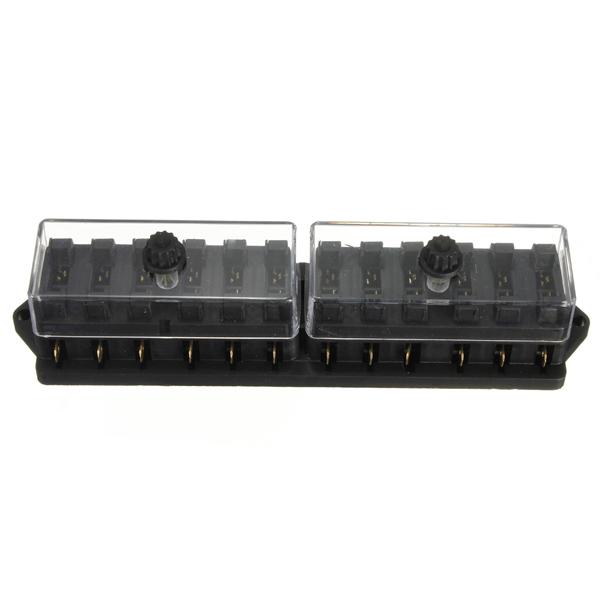 Buy v way car truck automotive blade fuse box holder