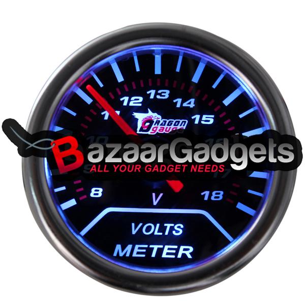 Buy 2 Inches 52mm Universal Digital Led 8 18v Car Voltage