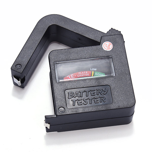 Used Car Batteries >> Buy Universal Battery Tester Checker AA AAA C D 9V Button ...