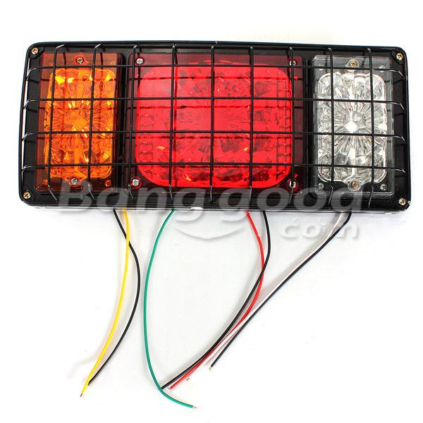 buy 12v pair led tail lights for ute trailer truck caravan tail lamps