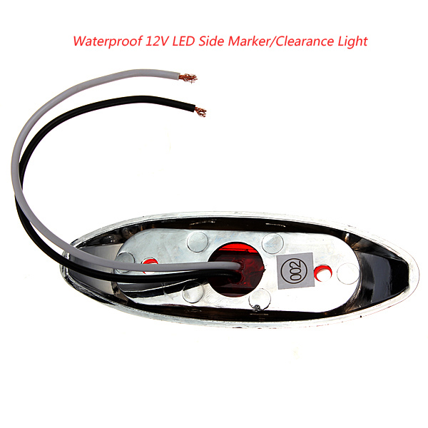 Buy Waterproof 12V LED Side Marker/Clearance Light For