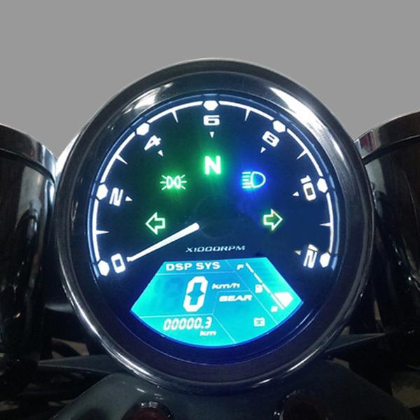 Buy 12000rmp Lcd Digital Speedometer Odometer Motorcycle 1