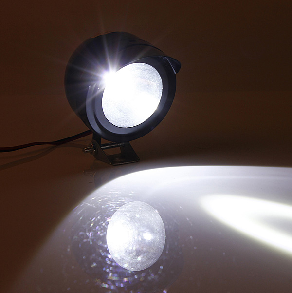 buy 12v 80v 5w motorcycle e bike led spot head light spotlight. Black Bedroom Furniture Sets. Home Design Ideas