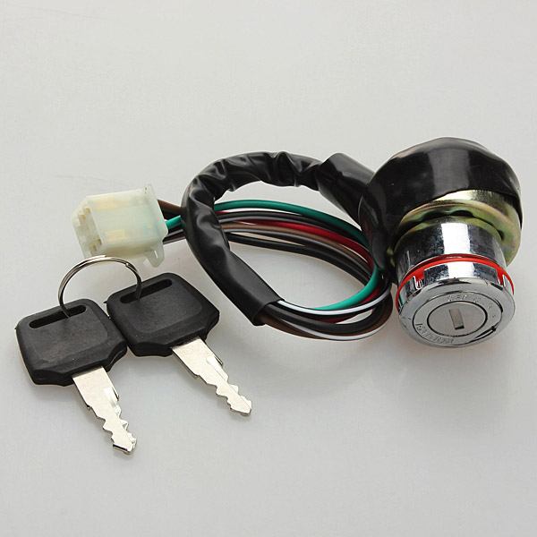 buy ignition key switch 6 wire for kazuma falcon 50cc 125c. Black Bedroom Furniture Sets. Home Design Ideas