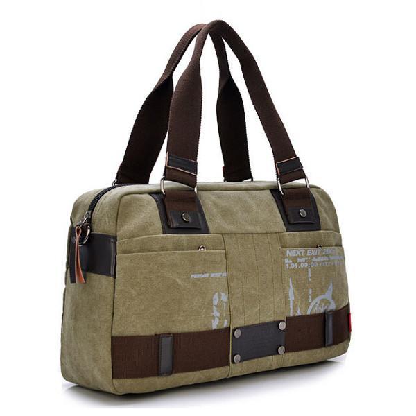 Buy Menu0026#39;s Fashion Leisure Canvas Bag Shoulder Bag Business Handbag   BazaarGadgets.com
