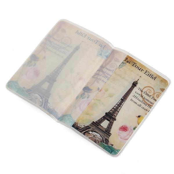 k p pvc rese h llare id credit card case pass t cker fl r. Black Bedroom Furniture Sets. Home Design Ideas