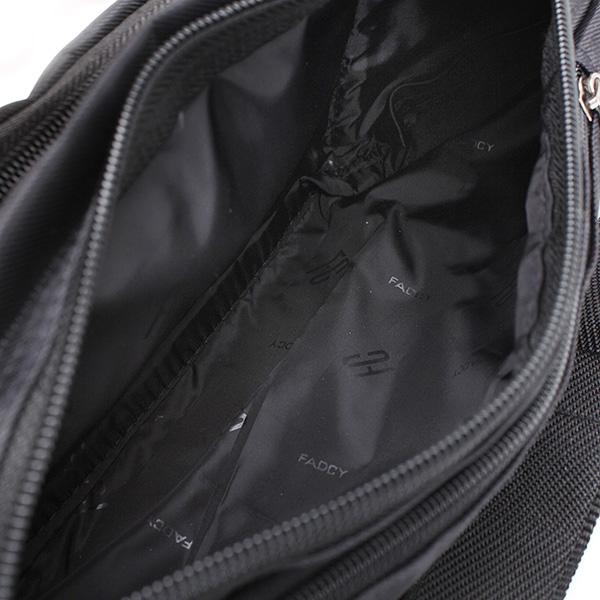 Buy zipper black waist bum bag fanny pack travel pocket for Travel shirts with zipper pockets