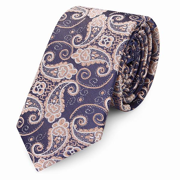 K B 2015 M Nd Slips Vintage British Style Polyester Silke Forretningsmand Tilbeh R