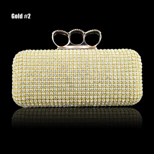 Buy Diamond Evening Wedding Clutches Bag | BazaarGadgets.com