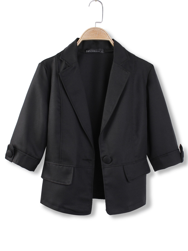 Black Blazers. The black blazer should be a staple item in every man or woman's wardrobe. It is chic, timeless, transferable and is the ultimate go-to jacket for upgrading your ensemble; the perfect fashion item for anyone looking to add to an already well-rounded wardrobe or for someone looking to buy their first smart jacket.