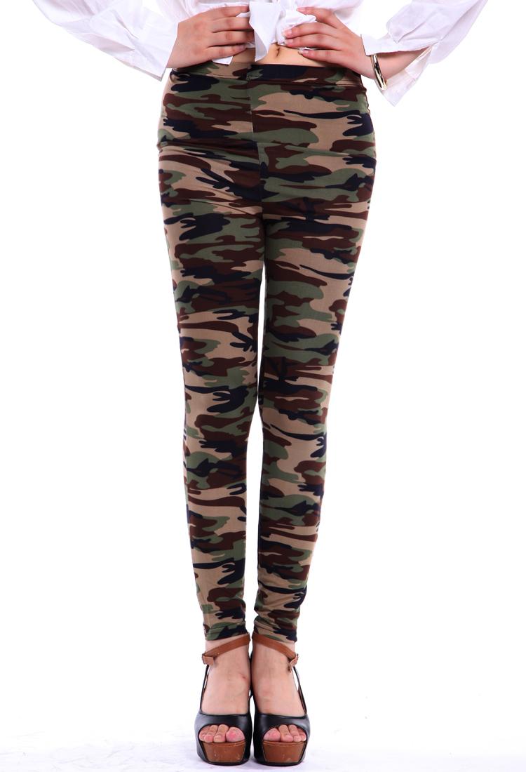 Buy Camo Army Printed Leggings | BazaarGadgets.com