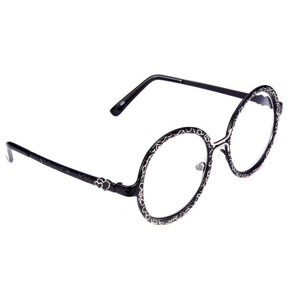 buy fashion carve pattern metal alloy frame great circle