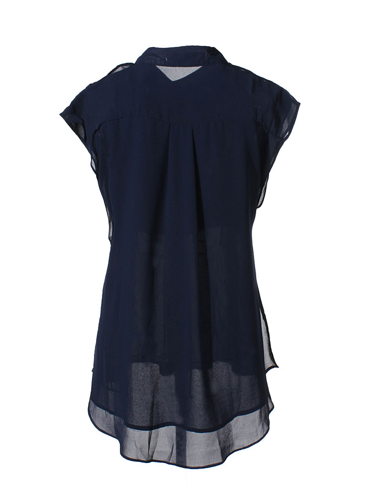 Buy Short Sleeve Chiffon Blouses