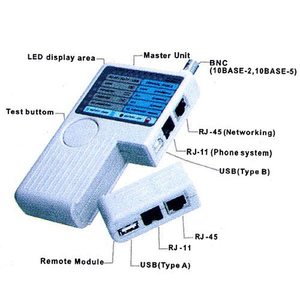 buy remote rj11 rj45 usb bnc lan network phone cable