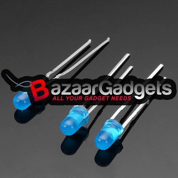 g nstig kaufen 500stk f3 3mm ultra helle blaue led diode. Black Bedroom Furniture Sets. Home Design Ideas