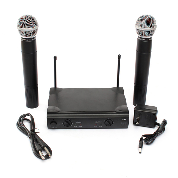 k p pro vhf dual tr dl s sladdl s mikrofonsystem ut4 typ f r karaoke ktv dj. Black Bedroom Furniture Sets. Home Design Ideas