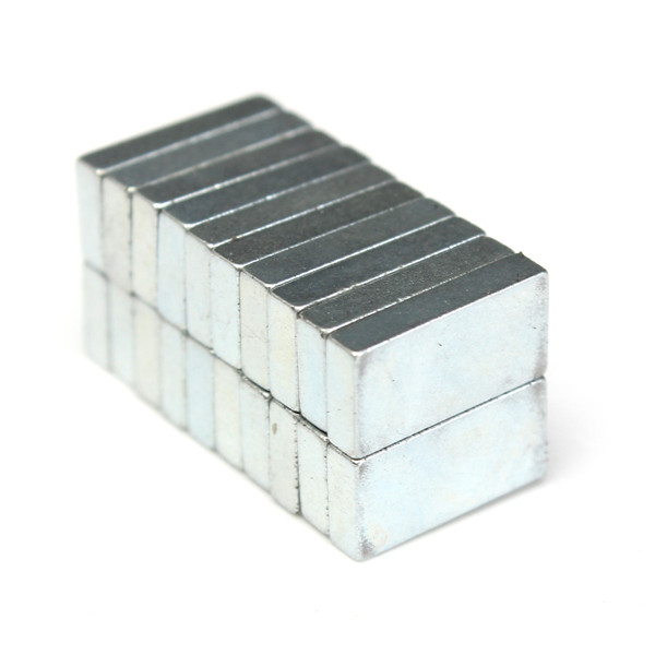 g nstig kaufen 20stk n52 blockmagneten 10x5x2mm seltene. Black Bedroom Furniture Sets. Home Design Ideas