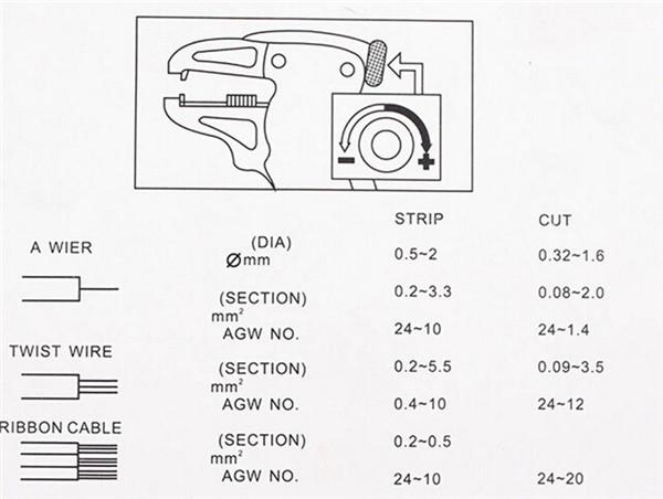 k u00f6p automatisk kabelskalare verktyg crimpt u00e5ng stripping