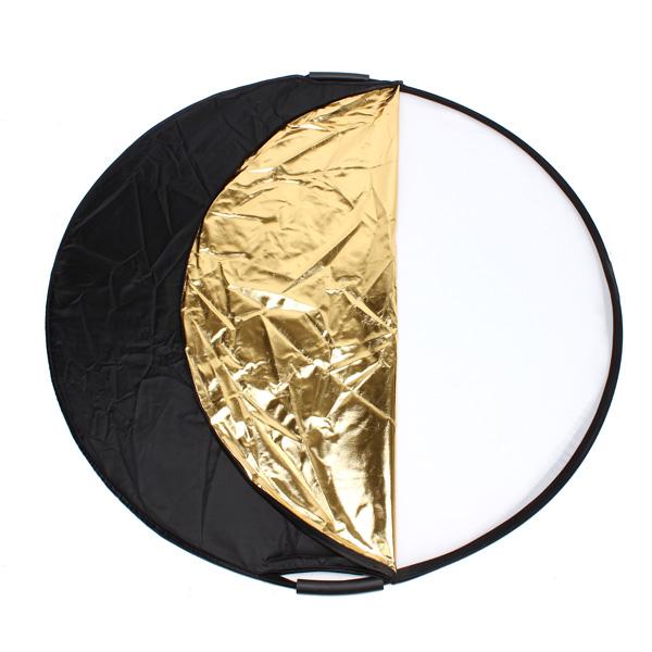 buy 5 in 1 43 inch 110cm handheld multi collapsible photograph studio light reflector disc. Black Bedroom Furniture Sets. Home Design Ideas