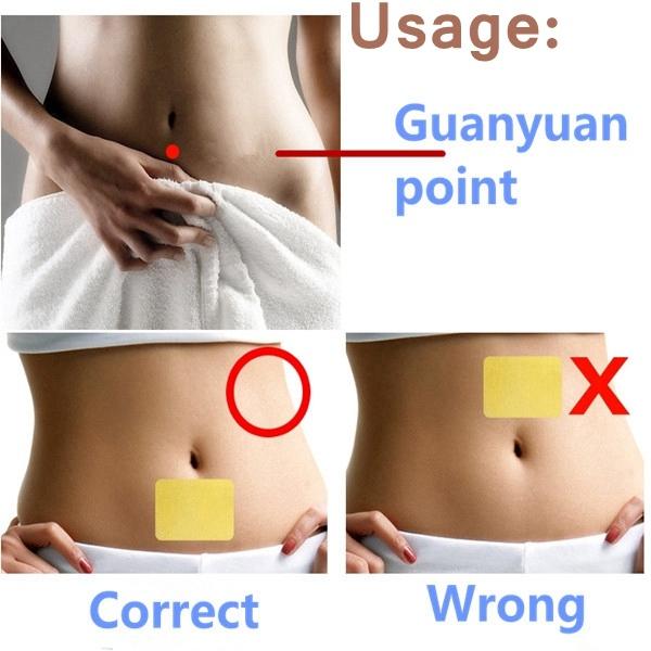 Buy 10Pcs Slimming Navel Weight Loss Burning Fat Sticker ...